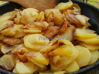 kaip kepti bulves