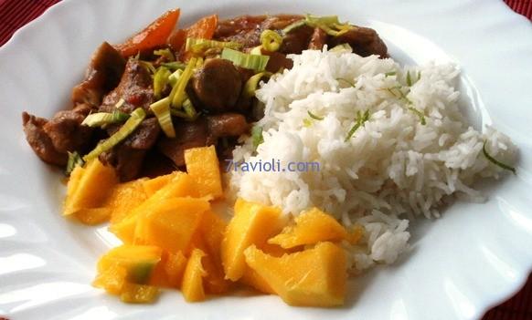 vištiena su Thai padažu