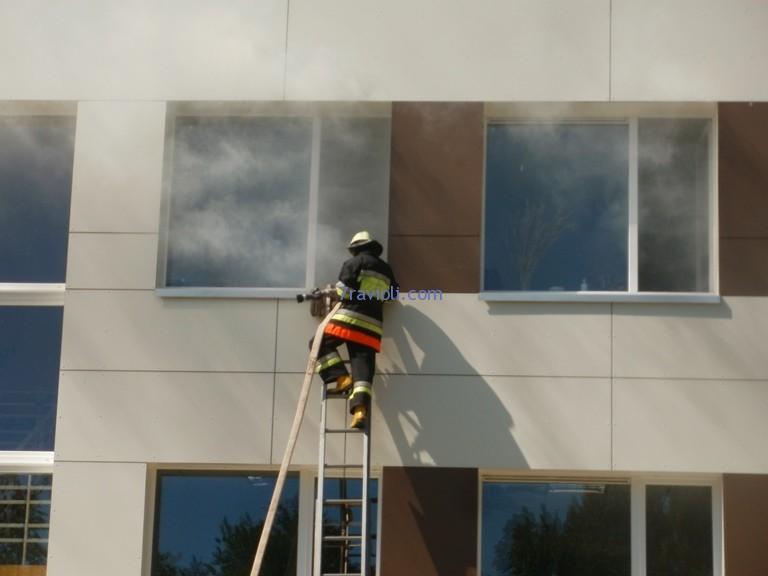 gaisrininkas Joniškio kultūros centre