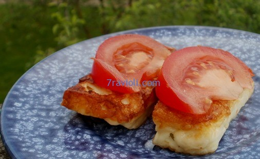 keptas sūris haloumi