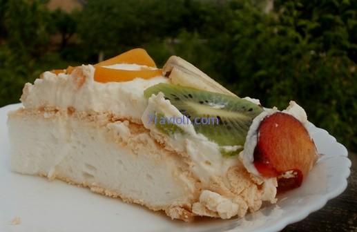 pavlova tortas