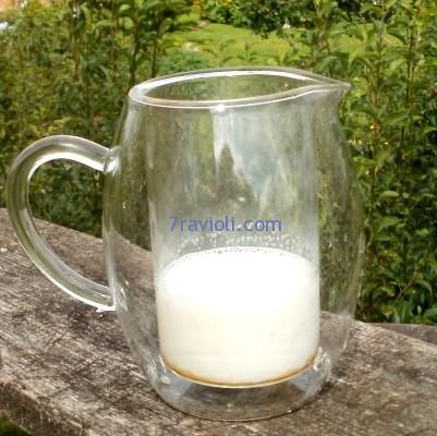 pienas kavai