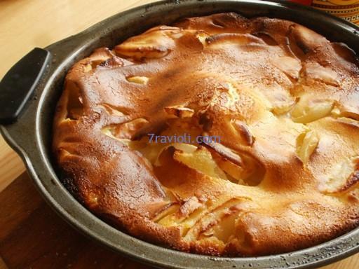 Obuolių pyragėlis
