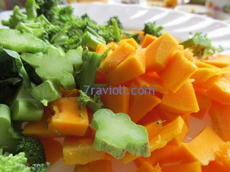 brokoliai ir moliūgai