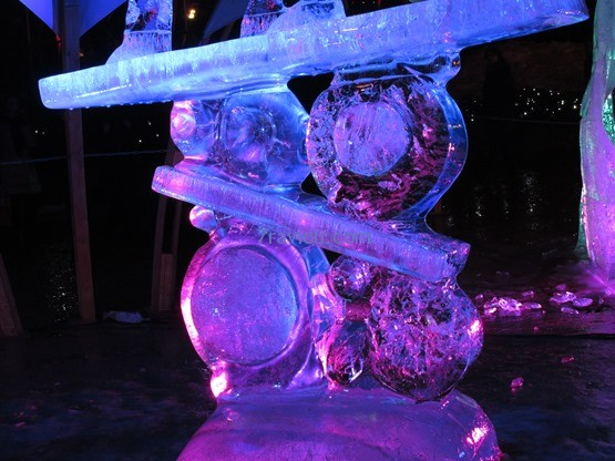 Jelgavos ledo skultūrų festivalis