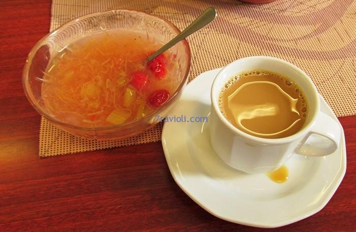 kava su kisielium