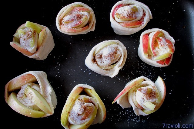 obuolių rožytės