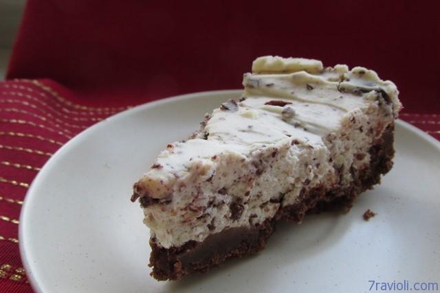 varškės - šokolado tortas