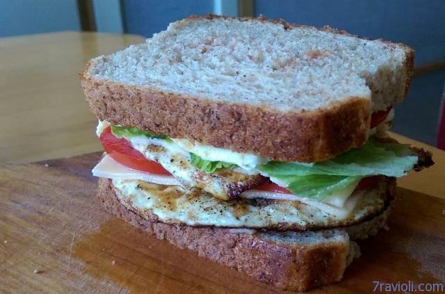 pusryčių sumuštinis