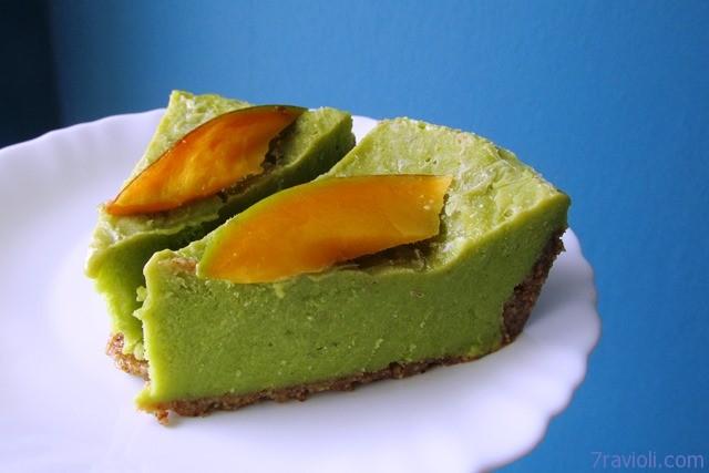 Žalias avokado tortas