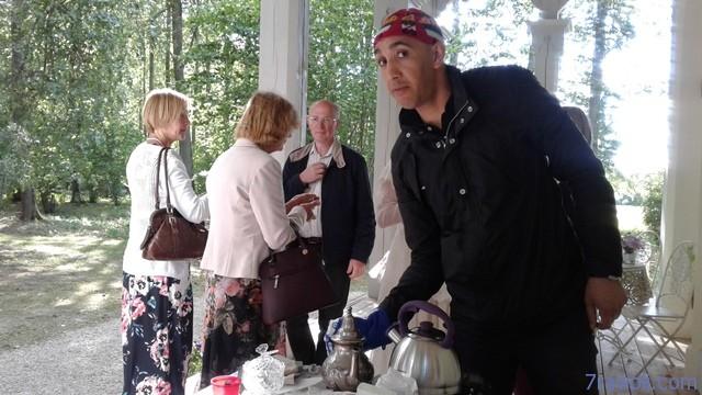 Maroko arbata Elejos arbatos namelyje