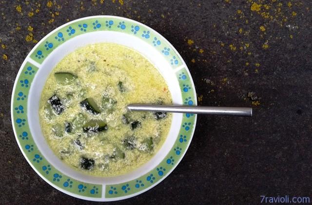 Švelni cukinijų sriuba